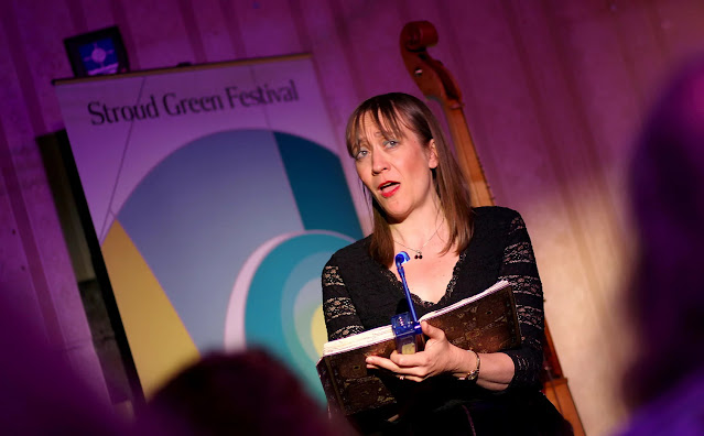 Clare Norburn at the Stroud Green Festival (Photo Robert Piwko)