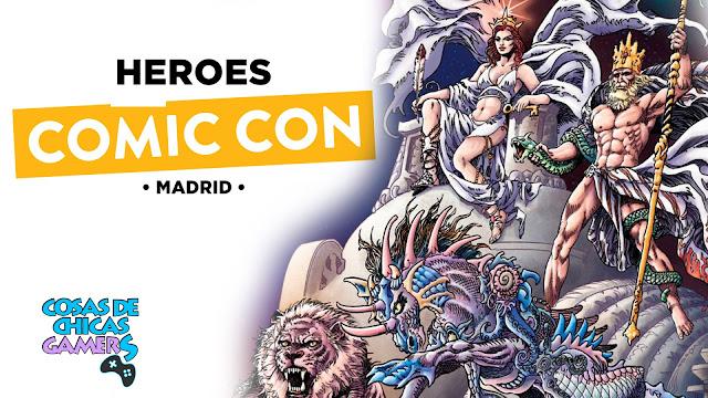 portada heroes comic con madrid 2019
