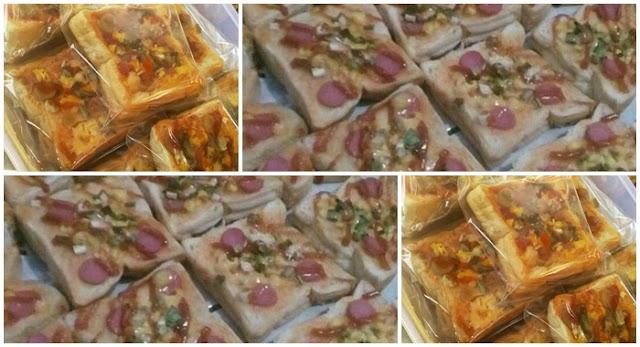 resep pizza mini roti tawar resep kita Resepi Roti Pizza Mini Enak dan Mudah