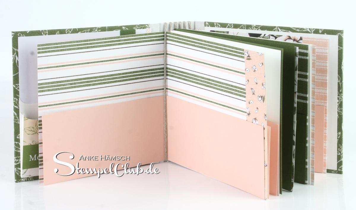 Seitenaufteilung innen Minialbum 6x6