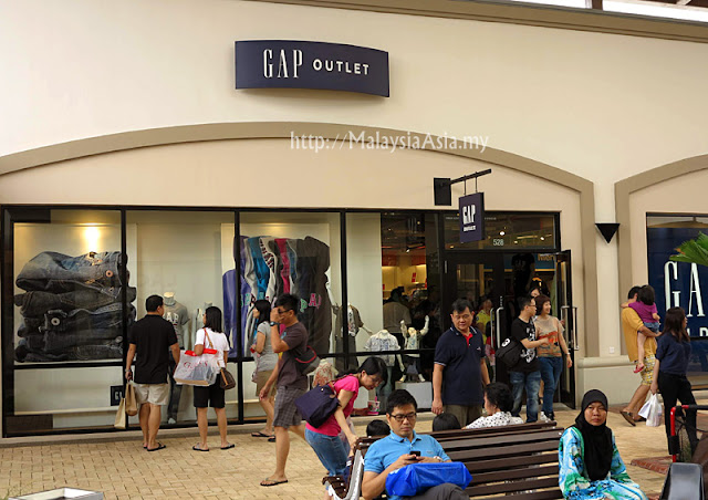 Malaysia GAP Outlet Store