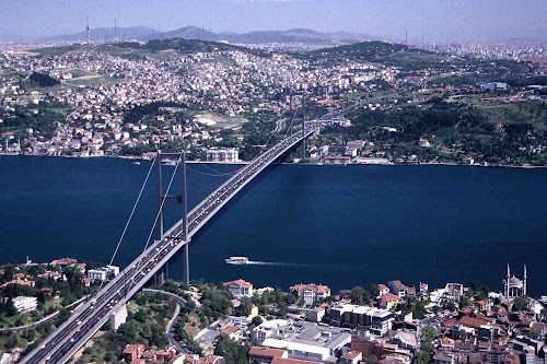 Estreito de Bósforo - Istambul