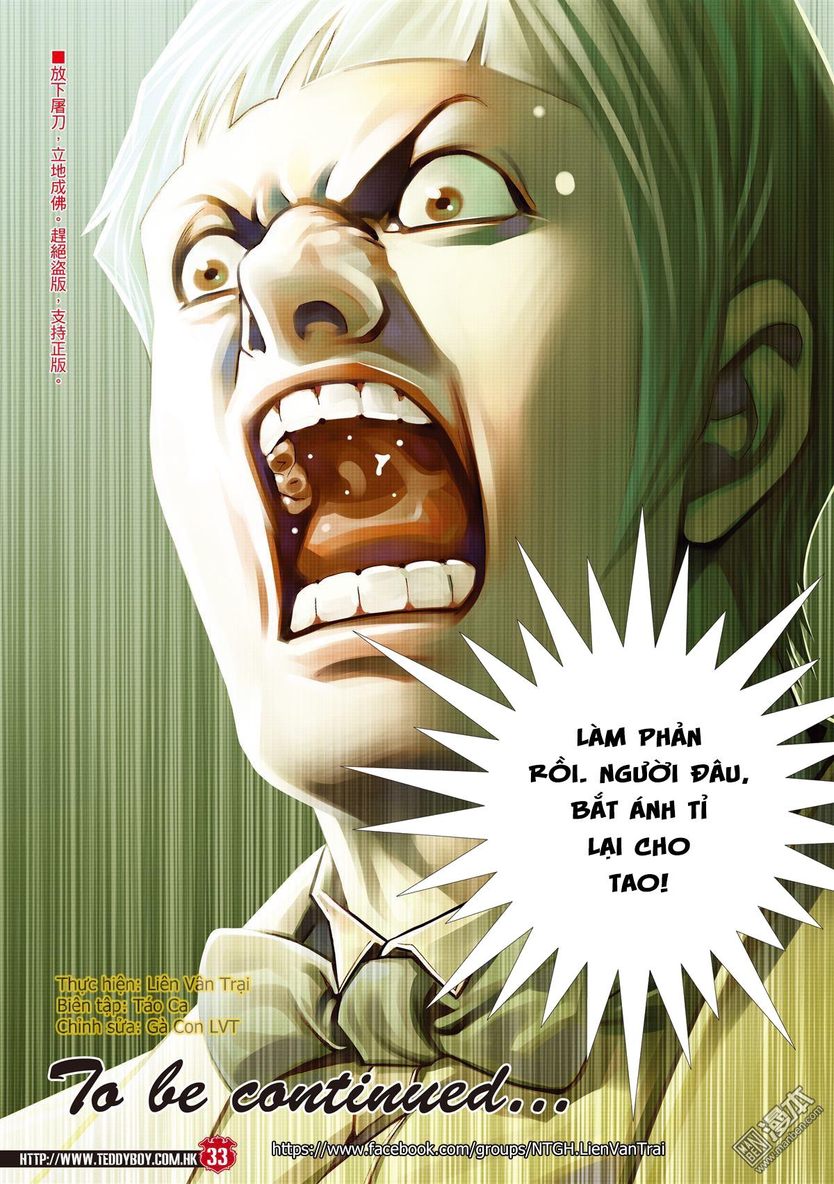 Người Trong Giang Hồ chapter 2067: ánh tỉ làm phản trang 30
