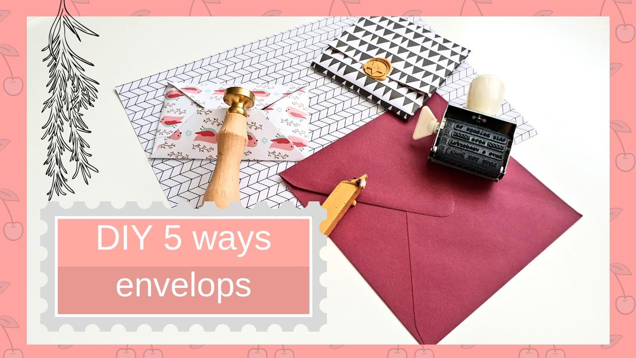 5 sposobów na zrobienie kopert
