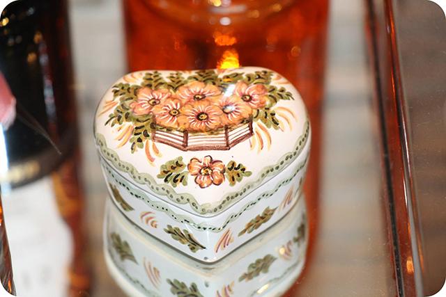 Detalhes Porcelana de Coração : Decoração do Jantar Dia dos Namorados