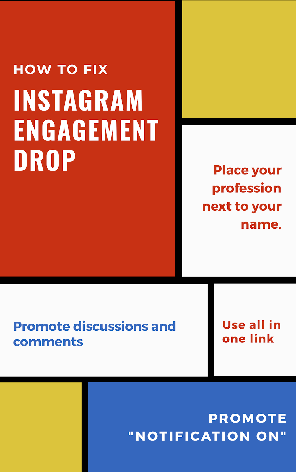 How to fix Instagram engagement drop