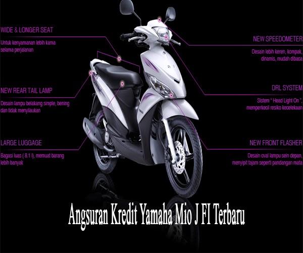 Brosur Harga Motor - Angsuran Kredit Yamaha Mio J FI Terbaru 2015