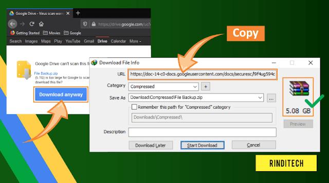 Cara FIX Error Cannot Resume Downloading the file di IDM