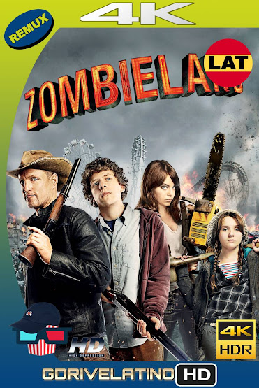 Zombieland (2009) BDRemux 4K HDR Latino-Ingles MKV