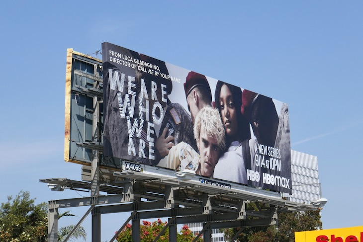 We Are Who We Are HBO series billboard
