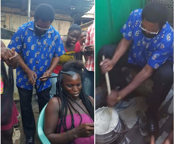 Photos: Oko Vanderpuije 'doing wonders' on campaign trail