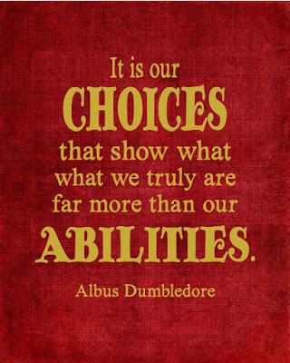 Albus Dumbledore printable quote