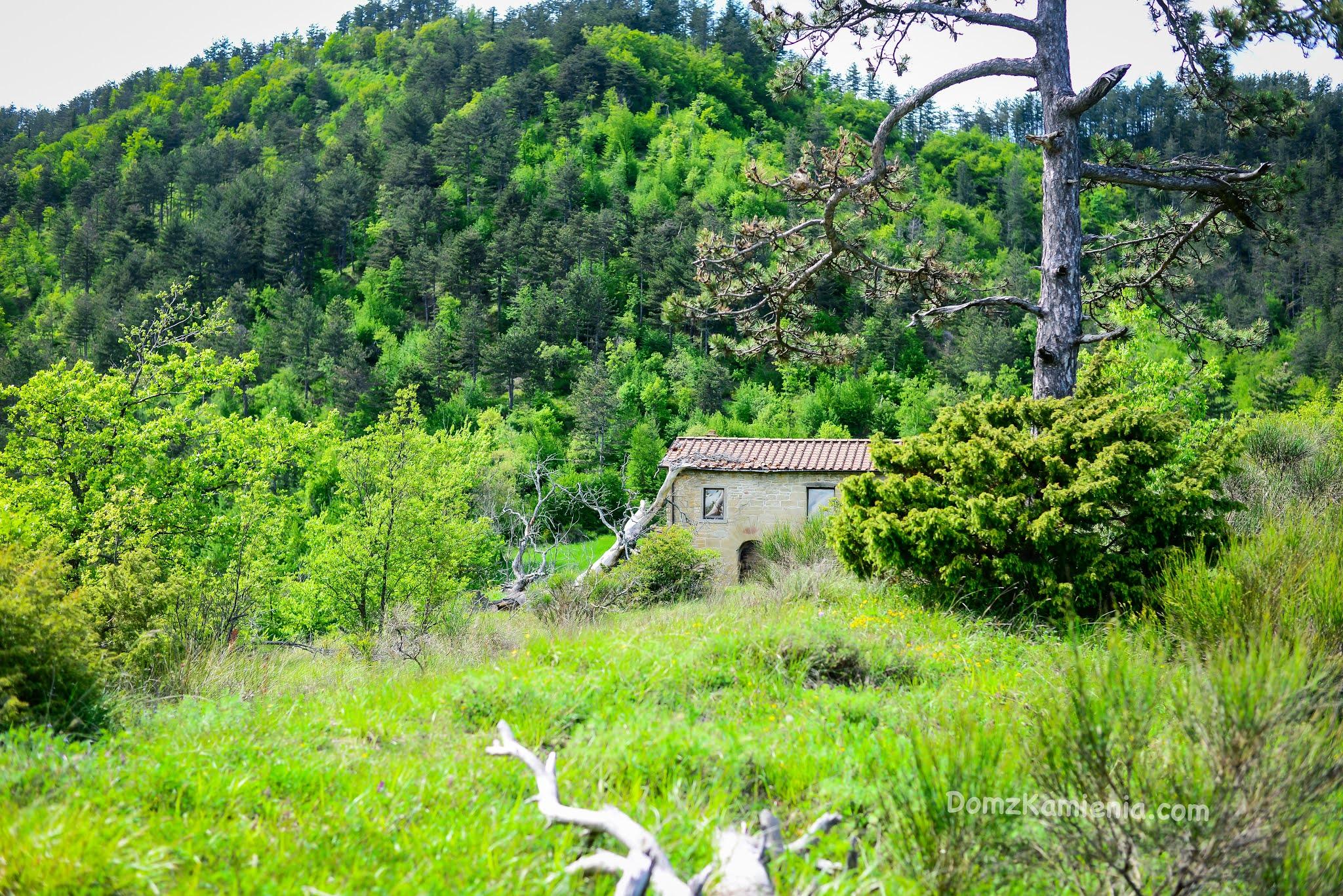 Dom z Kamienia blog, Marradi, Gamberaldi