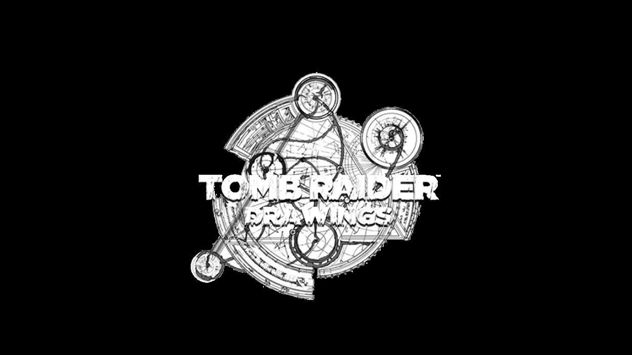 TOMB RAIDER DRAWINGS