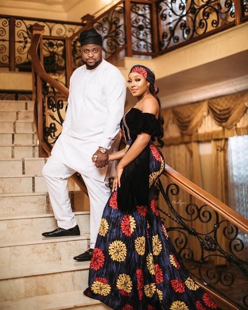 Adewale Adeleke And Adekani's Pre-Wedding Photos