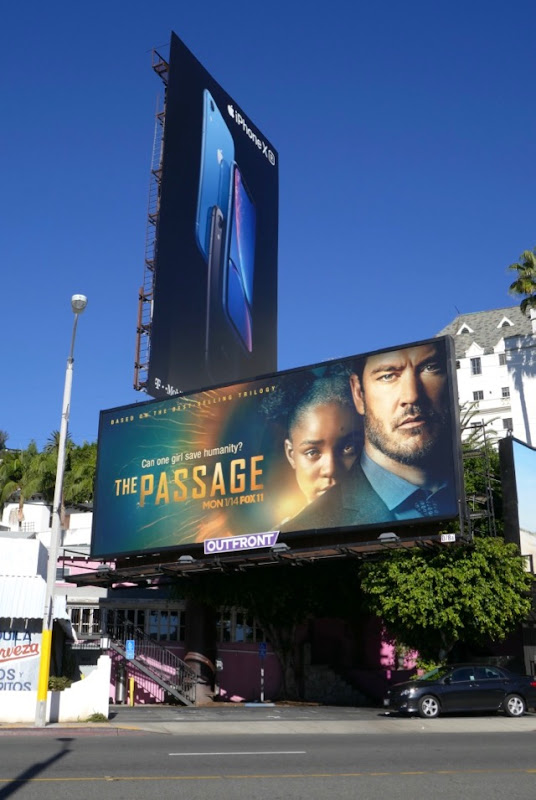 Passage TV billboard