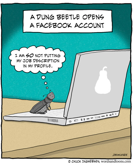 PictoVista: 20 Funny Cartoons About Facebook