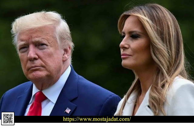 ترامب يعلن إصابته وزوجته ميلانيا بفيروس كورونا