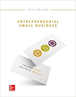 Entrepreneurial Small Business Edition 5e Katz Test Bank 1