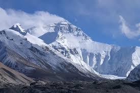 Mont Everest Himalaya. Image libre de droit