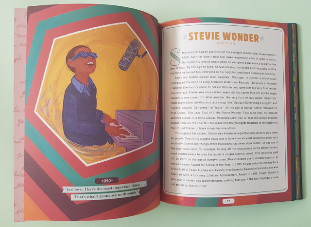 The story of Steve Wonder in the Never too Young! children's book