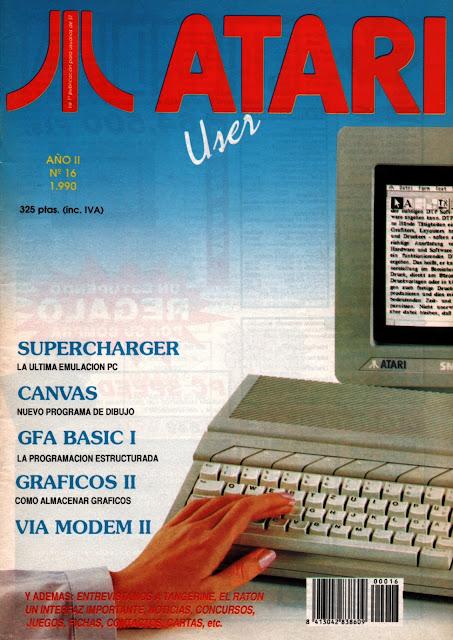 Atari User #16 (16)