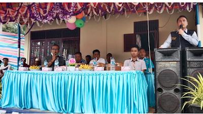 Ketua KNPI Buka Turnamen Vollyball di Paraman Ampalu
