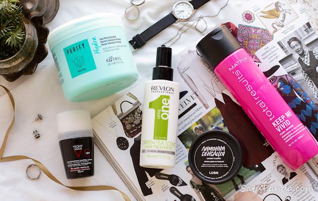 10 лучших продуктов 2020: уход за волосами и телом