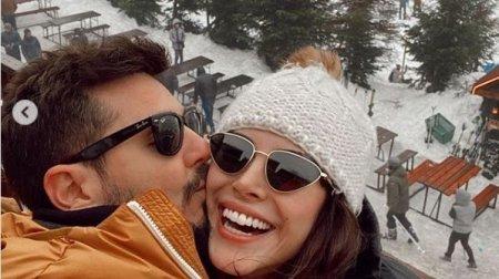 دينيز بايسال تستمتع بالعطلة الشتوية قبل بداية مسلسلها الجديد