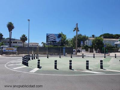 instalación de valla publicitaria en Tarragona