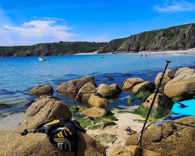 Paddle boarding adventure Cornwall