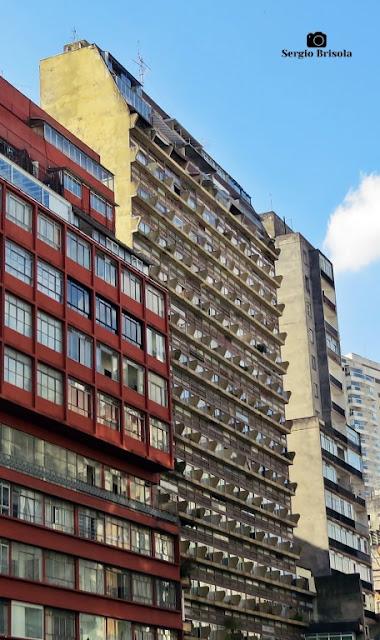 Vista ampla do Edifício Normandie - Bela Vista - São Paulo