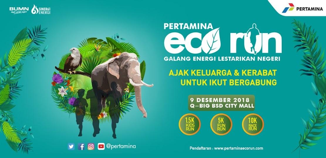 Pertamina Eco Run • 2018