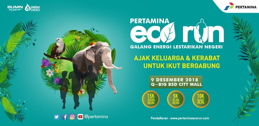 Pertamina Eco Run • 2018