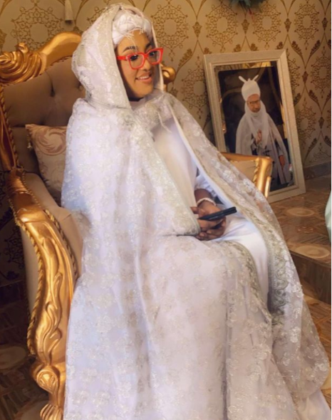 Actress Tayo Sobola is Married as She Becomes The 'Queen Mother of Uke Kingdom in Nasarawa