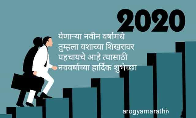 Happy New Year 2020 Messages in Marathi