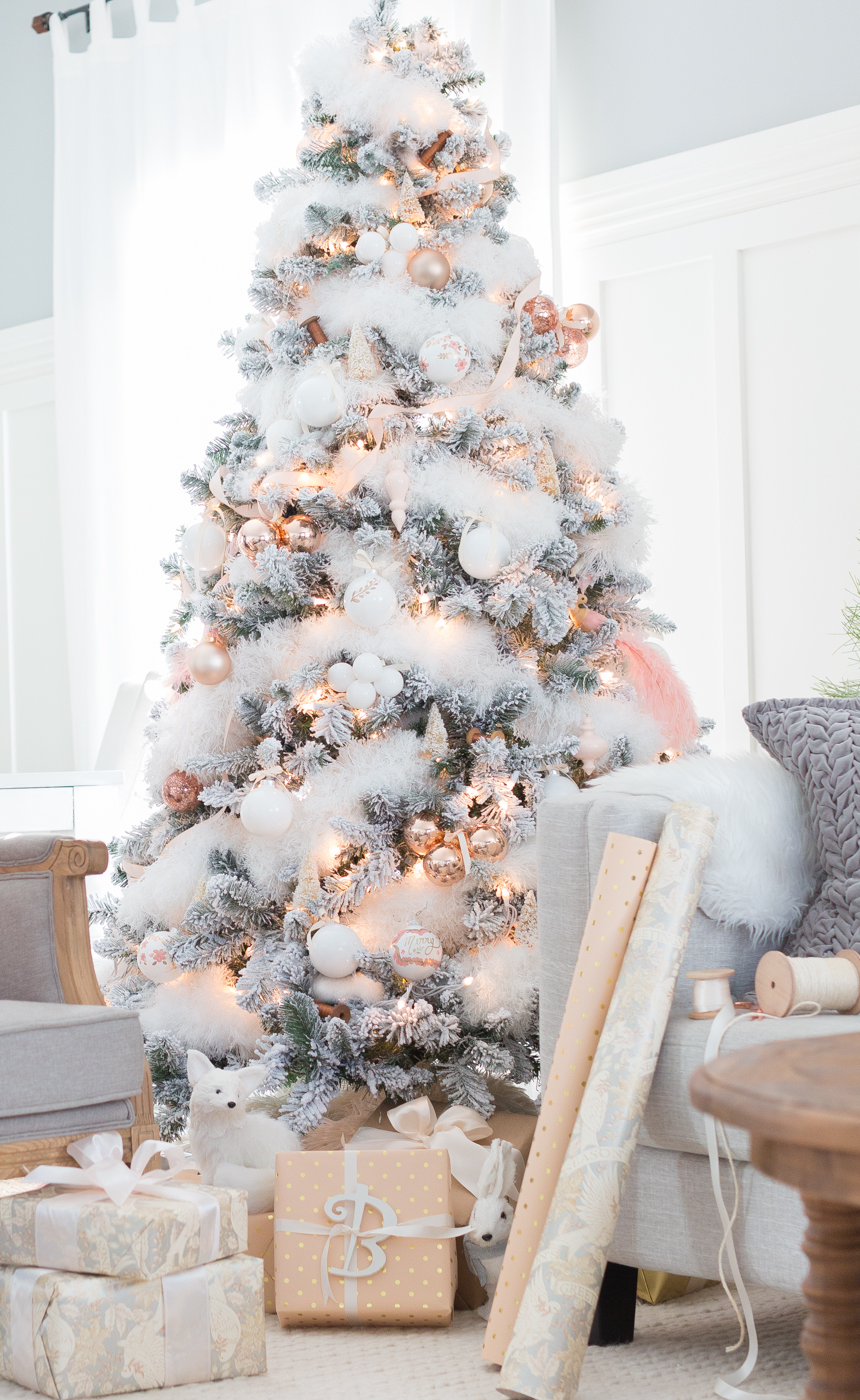 Blush Tone Christmas Tree