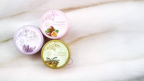 [REVIEW] Wardah Creamy Body Butter : Olive - Passion Fruit - Lavender & Ginger