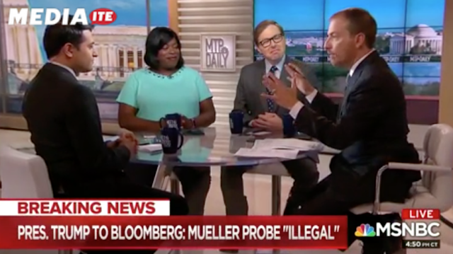 Chuck Todd Warns of Possible Mueller Bombshell: 'I Wouldn't Miss Work Tomorrow'