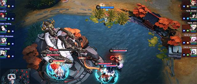 gameplay onmyoji arena