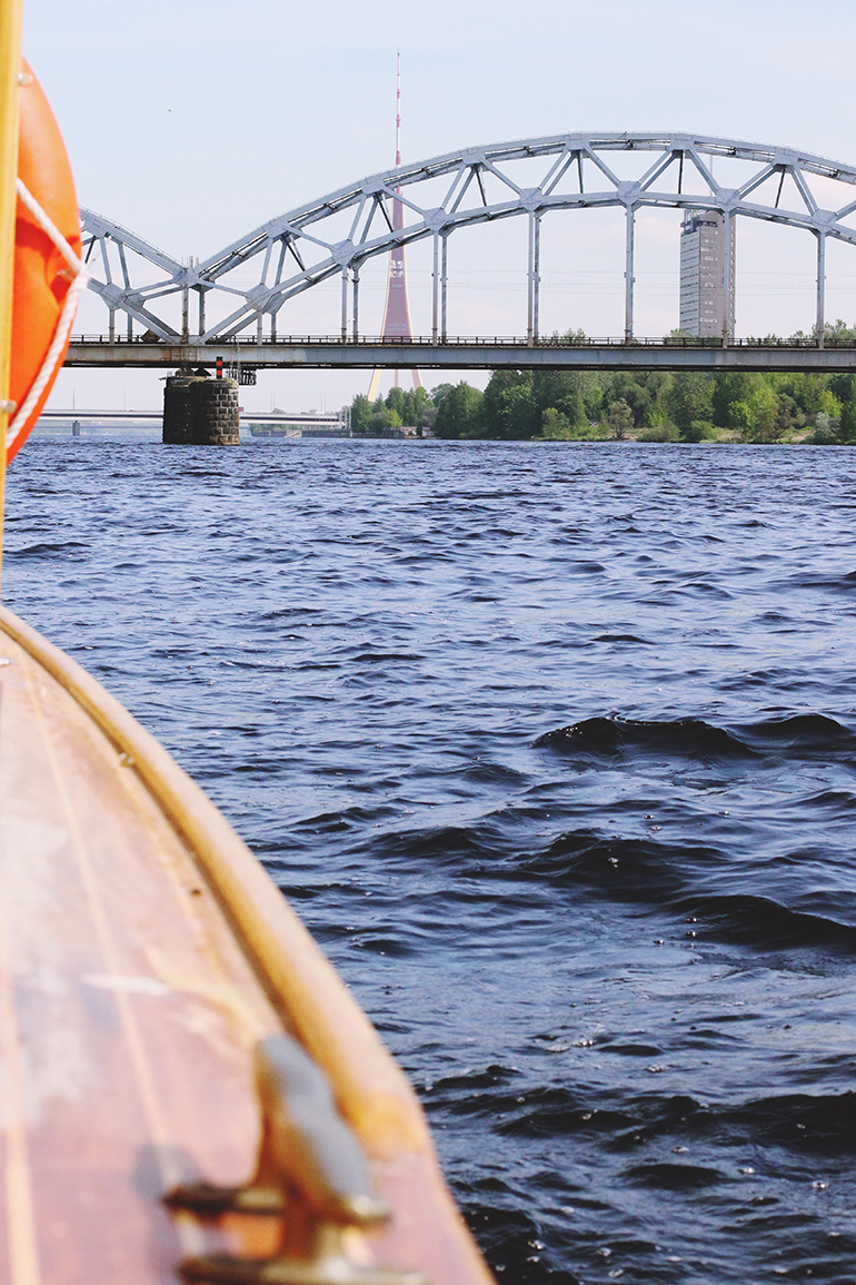 Riga Boat Canal Tour
