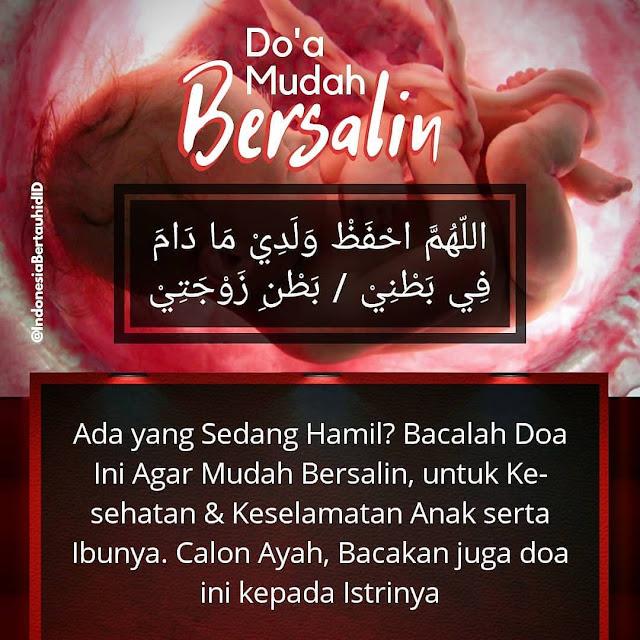 doa bersalin