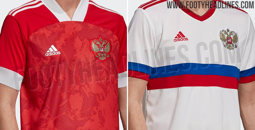 Russia 2020-21 Home Kit Released - New Design After 'Serbia Flag ...