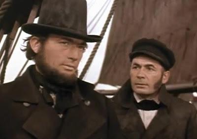 Adaptación de Moby Dick de Herman Melville en el cine con Gregory Peck - Ahab - Moby Dick -  El troblogdita - el fancine