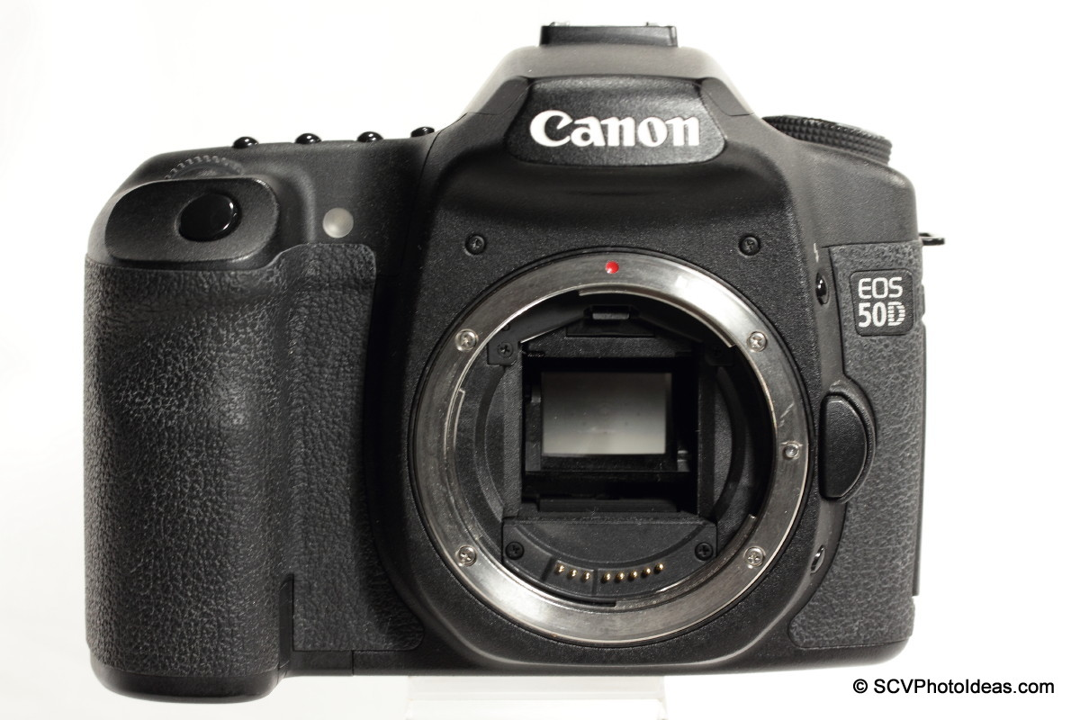 Canon EOS 50D Digital Camera body front - lens mount
