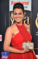 Sraddha in Sleeveless Red Gown at IIFA Utsavam Awards 2017  Day 2  HD Exclusive 16.JPG