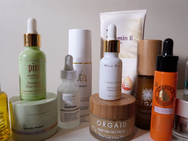 AD   Skincare I've Been Loving Recently   Winter Skincare 2020   Discovering New Skincare From Orgaid, Purifying Face Polish And Youth Serum.