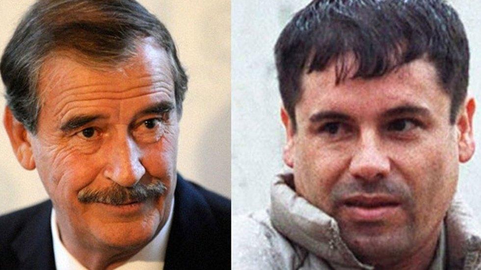 Hablan de Ovidio Guzmán pero nadie recuerda cuando Vicente Fox dejo libre a su papá El Chapo Guzmán por 20 mdd