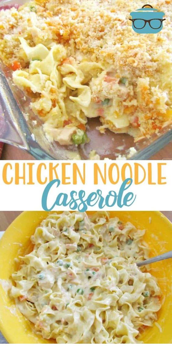 Chicken Noodle Casserole