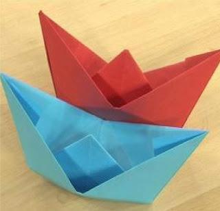 Kağıttan Gemi Yapımı Resimli anlatım – Origami tekne yapımı